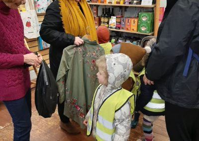 Oak Tree Pre-School donating toys to a Oxfam